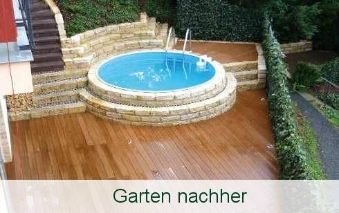 Garten nachher - Resysta